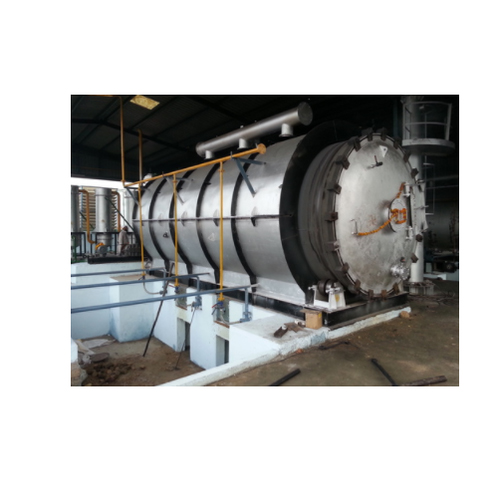 Semi-Automatic Tyre Pyrolysis Plant